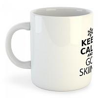 [해외]KRUSKIS Mug Keep Calm and Go Skiing 325ml White