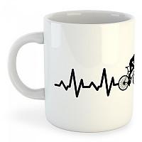 [해외]KRUSKIS Biking Heartbeat 325ml White