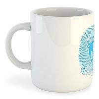 [해외]KRUSKIS Mug Skateboarder Fingerprint White