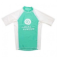 [해외]RADZ HAWAII Lycra S/S Sky Blue / White