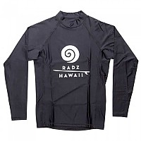 [해외]RADZ HAWAII Lycra L/S Black Block