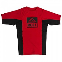 [해외]REEF Logo Rashguard II Red / Black