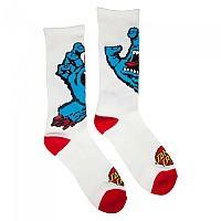 [해외]SANTA CRUZ Screaming Hand Socks White