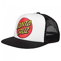 [해외]SANTA CRUZ Classic Dot Cap Mesh White / Black