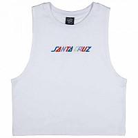 [해외]SANTA CRUZ Coloured Strip Vest White