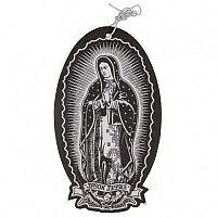 [해외]SANTA CRUZ Guadalupe Air Freshener Black
