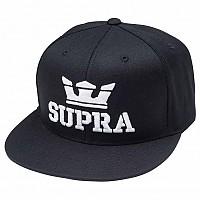 [해외]SUPRA Above Snap Cap Black