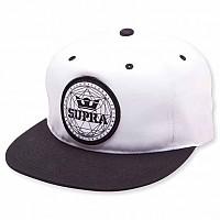 [해외]SUPRA Geo Patch Slider Cap Black / White