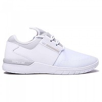 [해외]SUPRA Flow Run White / Light Grey / White