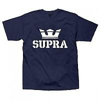 [해외]SUPRA Above Regular S/S Navy / White