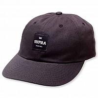 [해외]SUPRA Label Slider Cap Black