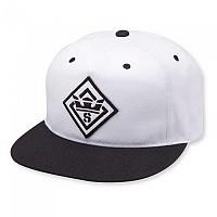 [해외]SUPRA Stencil Patch Slider Hat Black / White