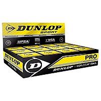 [해외]던롭 Pro Double Yellow Dot Box Black