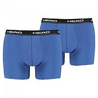 [해외]헤드 UNDERWEAR Basic Boxer 2 Pack Blue / Black