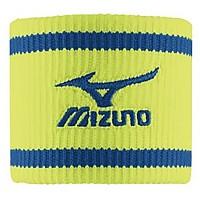 [해외]미즈노 Wristband Short 1 Pair Safety Yellow / Diva Blue