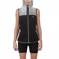 [해외]NEON Niza Night Hooded Sleeveless Black / Grey