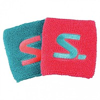 [해외]살밍 Wristband Short 2 pack Diva Pink / Turquoise