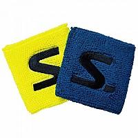 [해외]살밍 Wristband Short 2 Units Electric Blue / Saftey Yellow