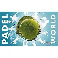 [해외]STT SPORT Crazy Towel Padel World Terry Loop Blue