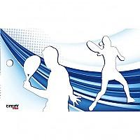 [해외]STT SPORT Crazy Towel Padel Couple Terry Loop White / Blue