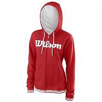 [해외]윌슨 Team Script Full Zip Hooded Wilson Red / White