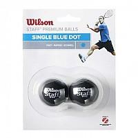 [해외]윌슨 Staff Fast Single Blue Dot Black