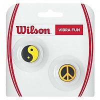 [해외]윌슨 Vibra Fun Neon Ying Yang Peace 2 Units Multicolor