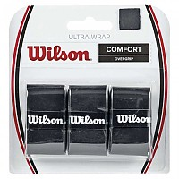 [해외]윌슨 Ultra Grip Wrap 6 Pack Black