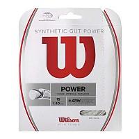 [해외]윌슨 Synthetic Gut Power 12.2 m Natural