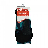 [해외]윌슨 Color High End Crew Socks Moroccan Blue / Enamel Blue