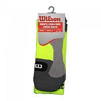 [해외]윌슨 Color High End Crew Socks Safety Yellow
