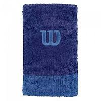 [해외]윌슨 Extra Wide Wristband Mazarine Blue / Prince Blue / Prince Blue