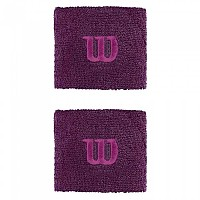 [해외]윌슨 Wristband Dark Purple