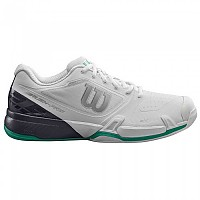 [해외]윌슨 Rush Pro 2.5 Clay White / Ebony / Deep Green