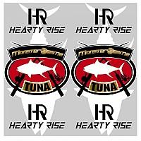 [해외]HEARTY RISE Neck Gaiter Red / White