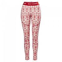 [해외]헬리 한센 Lifa Merino Graphic Pants Flag Red / Frost Print