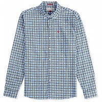 [해외]MUSTO Porto Gingham True Navy Gingham