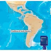 [해외]NAVIONICS Navionics+ 3XG Central South America MSD 3XG