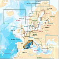[해외]NAVIONICS Platinum+ XL Medirerranean North West 5P274XL