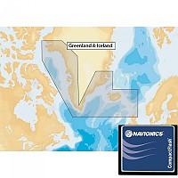 [해외]NAVIONICS Navionics+ Xl9 Greenland and Iceland 20XG