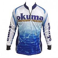 [해외]OKUMA Tournament Shirt White / Blue