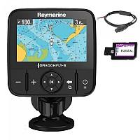 [해외]RAYMARINE 드래곤 고글fly 5M GPS C-Map