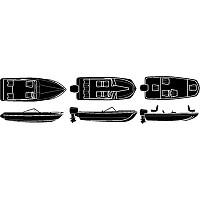 [해외]SEACHOICE Sterling Series V Hull Silver