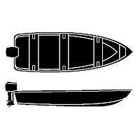 [해외]SEACHOICE Semi Custom V Hull Fishing Wide Series Grey