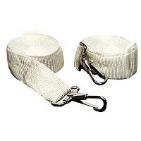 [해외]SEACHOICE Adjustable Bimini Top Straps White (2 pcs)