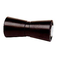 [해외]TIEDOWN ENGINEERING Rubber Keel Roller Center Guide Black