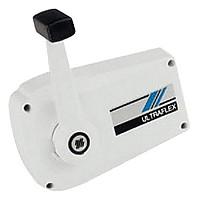 [해외]UFLEX Universal Single Lever Side Mount Control White