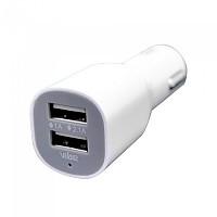 [해외]VIBE Dual Port USB Car Charger C5 White