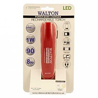 [해외]WALTON Powerbank Charger and Emergency Led Torch Red