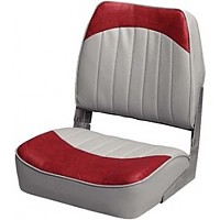 [해외]WISE SEATING Economy Fold Down Fishing Chair Grey / Red